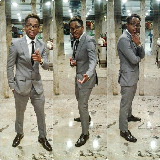 Hip Hop Rapper Calvin Dressed in Armur Bespoke by Phillip Marufu Styled by Signature Toscie Zimbabwe Music Awards (ZIMA) 2016
