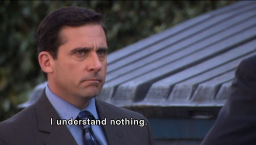 My life is Michael Scott's life.
