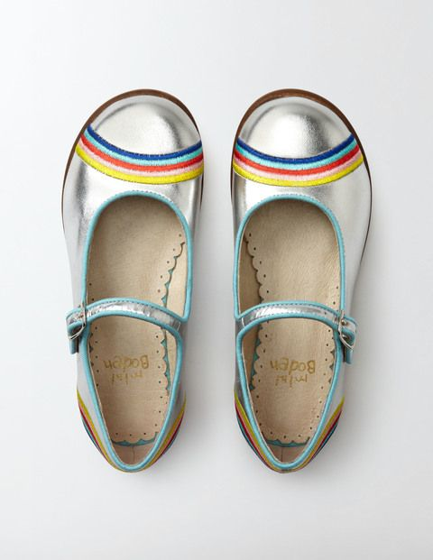 Rainbow Mary Janes | Boden