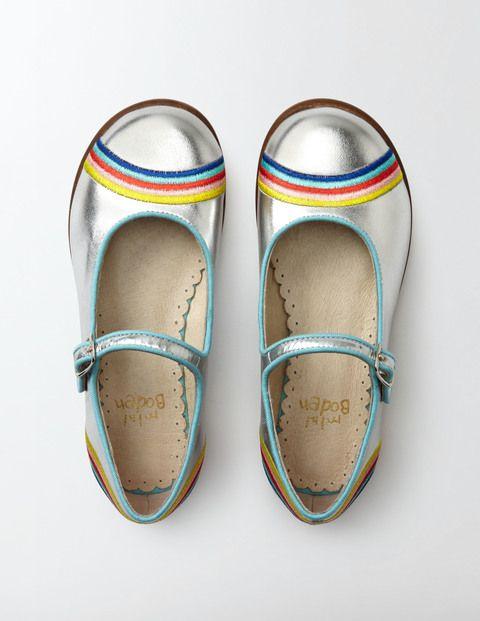 Rainbow Mary Janes | Boden