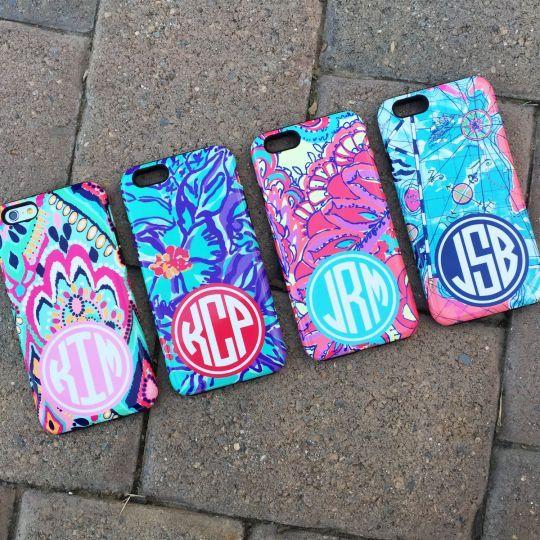 Personalized Bumper Monogram Phone Cases - 16 Designs!