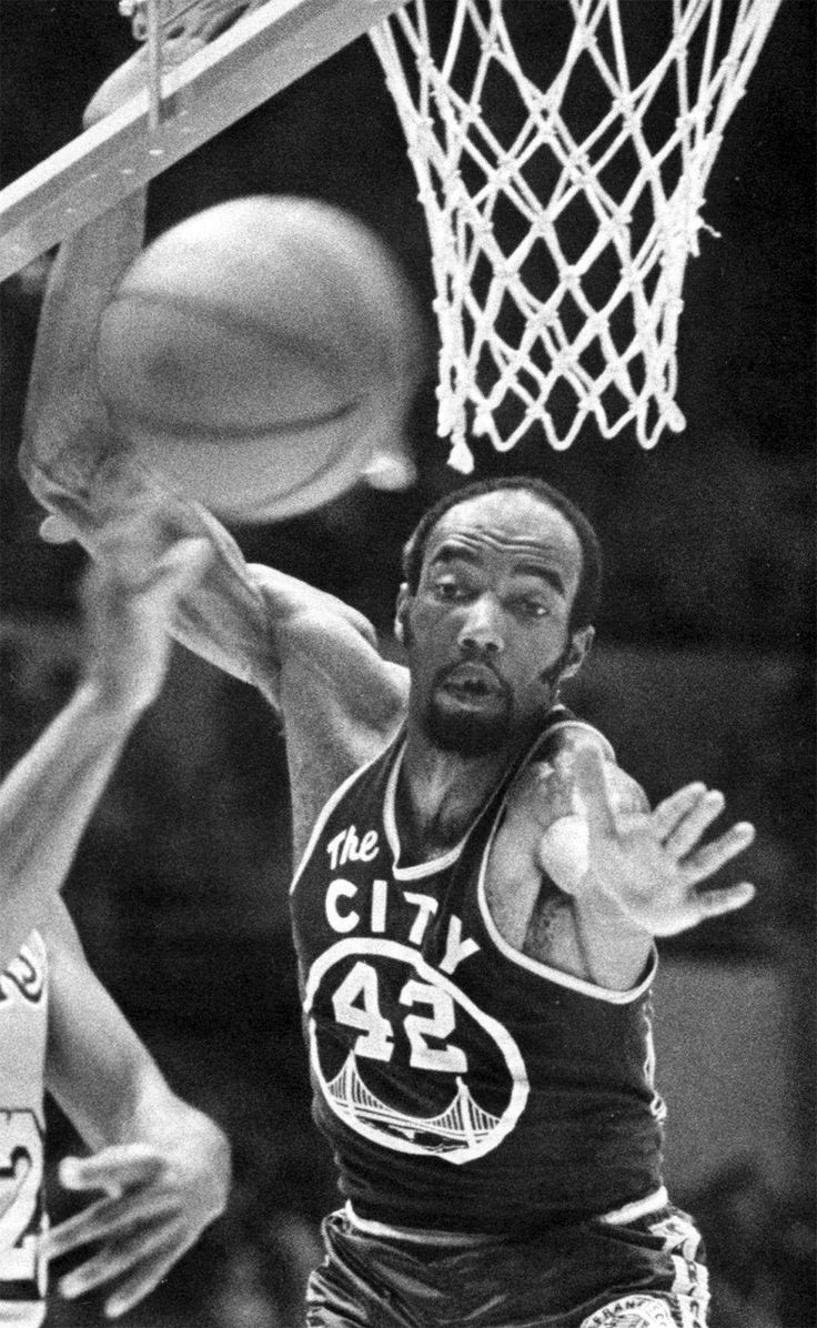 Professional Basketball Player, Nate Thurmond in 1969