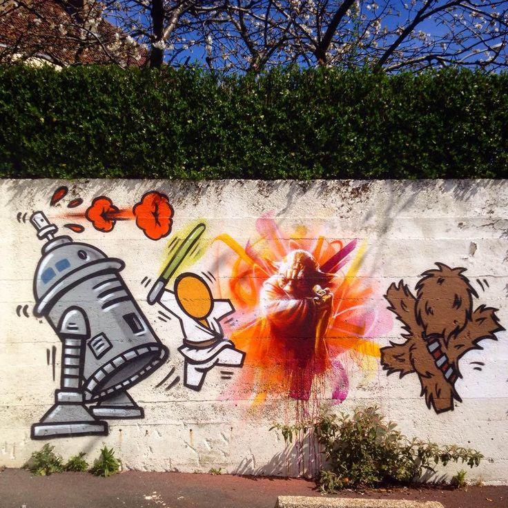 Les 132 meilleures id es de la cat gorie street art dan for Les differents types de peintures murales