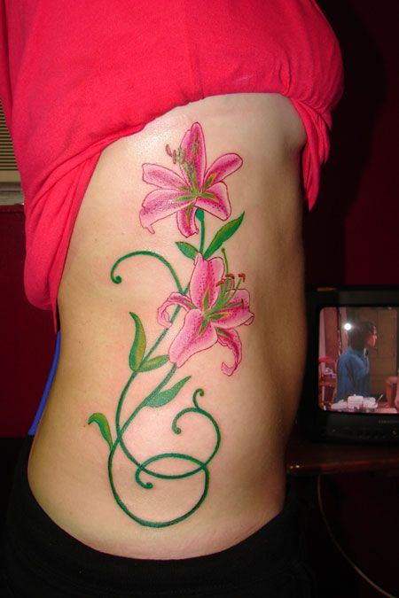 Stargazer lily by tmtattooart on DeviantArt