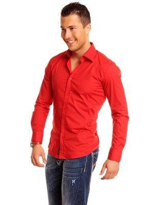 Carisma camisa formal slim fit | red
