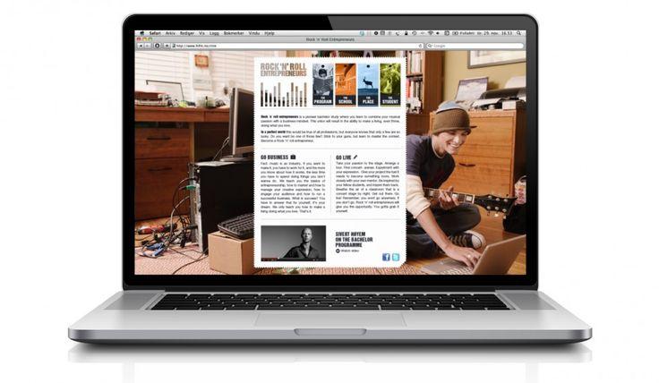 Universitetet i Tromsø | Bachelor of Rock 'n' Roll Entrepreneurs | Branding, innholdstekster, sosiale medier
