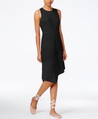 RACHEL Rachel Roy Asymmetrical Combo Dress, Only at Macy's | macys.com