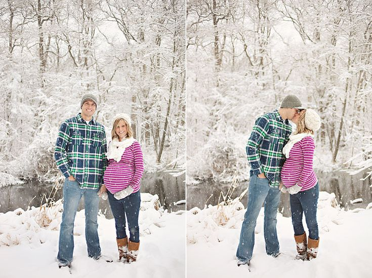 Winter wonderland maternity pics would be so amazing!! I wish it'd snow in southeast Tennessee/north Georgia