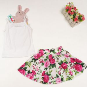 Summer Skirt & Vest Top