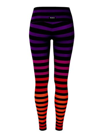 K-Deer: Leggings in 'Sophia Stripe'. K-deer seems to just recently be offering plus size. I remember going on their site earlier in the year and seeing these weren't available in my size yet. But times change and I have a little yoga crush on these and here heard great things in general about the brand.