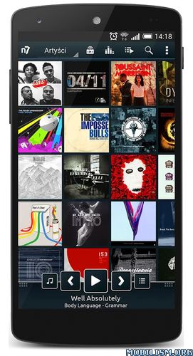 n7player Music Player v3.0.6 build 246 [Mod Lite]Requirements: 4.1+Overview: n7player is a supreme music player with innovative user interface and powerful audio processing.   Descriptionn7player is a unique music player with an advanced equalizer and...