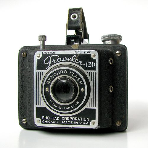 Pho-Tak Traveler #vintage #camera