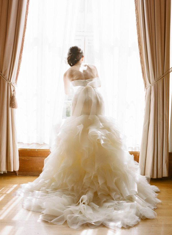 Gorgeous gowns | Photography by Esther Sun Photography | 30 Details We Love for Classic and Traditional Weddings