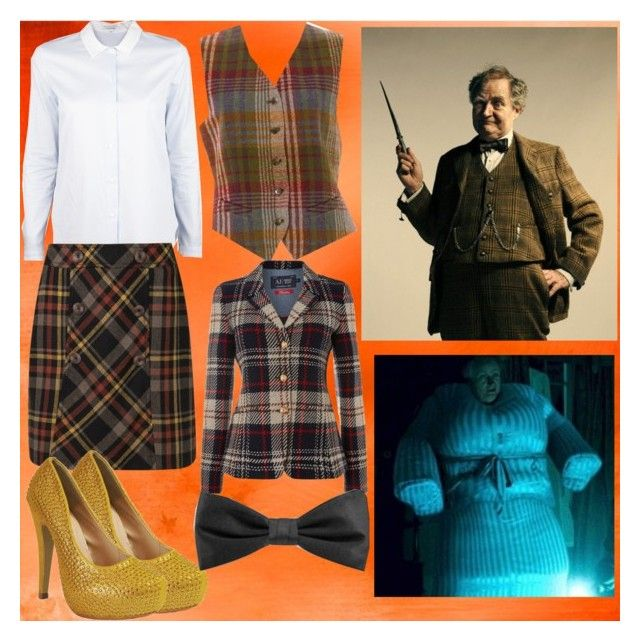 Horace Slughorn by slytheriner on Polyvore featuring Carven, Armani Jeans, Mulberry, Anna Field and Horace