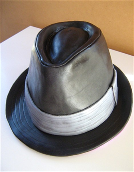 Hat Cake Almost Like The Blues Brothers Hat For Teddy