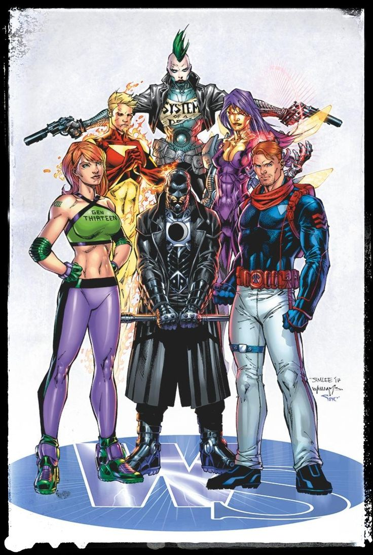 Wildstorm Universe by Jim Lee