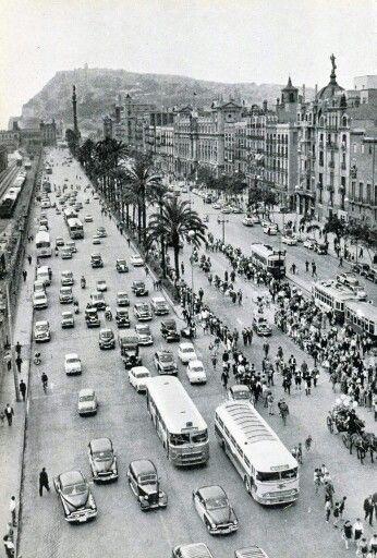Paseo de Colón,1961. http://degarcia-pacodiscomix.blogspot.com.es/