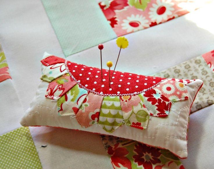 pincushion patterns   happy little cottage   Pincushion Patterns