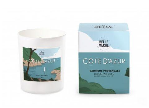 LA BELLE MECHE - Bougie parfumée aux airs de la CÔTE D'AZUR
