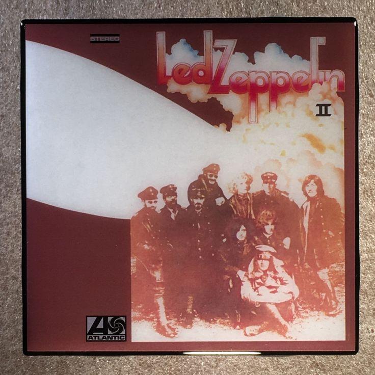 LED ZEPPELIN II Coaster Ceramic Tile Record Cover