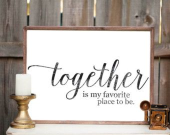 Gather Sign Wood Sign Home Decor By Vitaboutique On Etsy