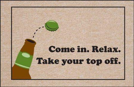 27 Best Images About Beer Wine Doormats On Pinterest