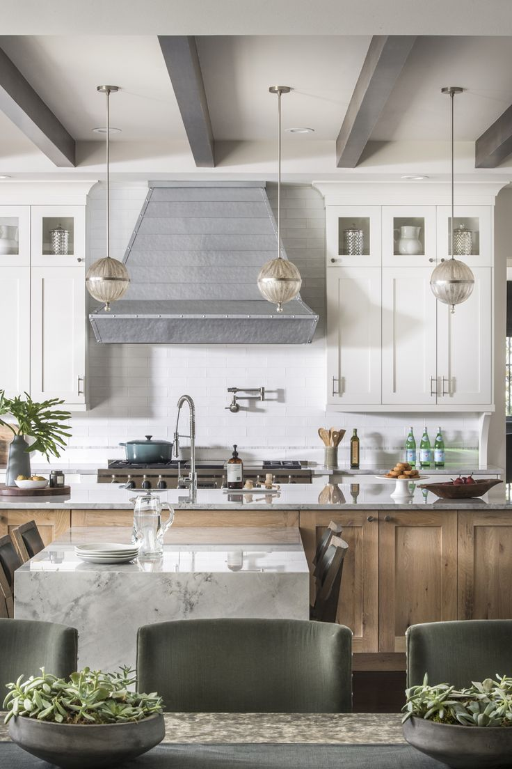 Mix of woods done right in this beautiful kitchen Brianna Michelle Interior Design