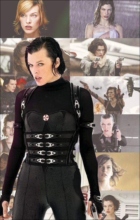 Resident Evil - Alice  I love this movie(: ❤❤❤❤❤