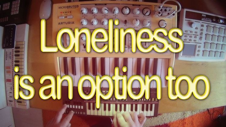 Casio PT-31/Arturia Microbrute video | Loneliness is an option too