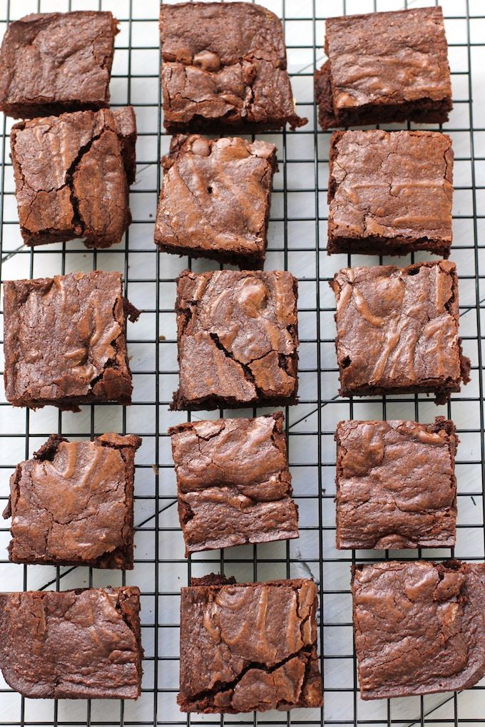 Old Fashioned Brownies   Green Valley Kitchen
