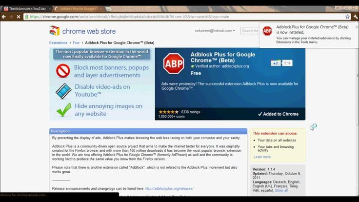 how to install adblock plus for google chrome (free)