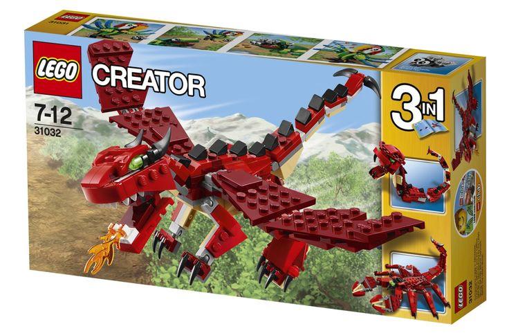 LEGO Creator 31032, Röda varelser från LEGO hos Stor&Liten