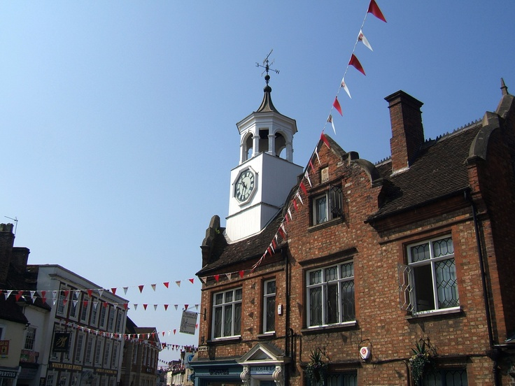 Image of Ampthill Town Centre taken on Thursday 26th July 2012