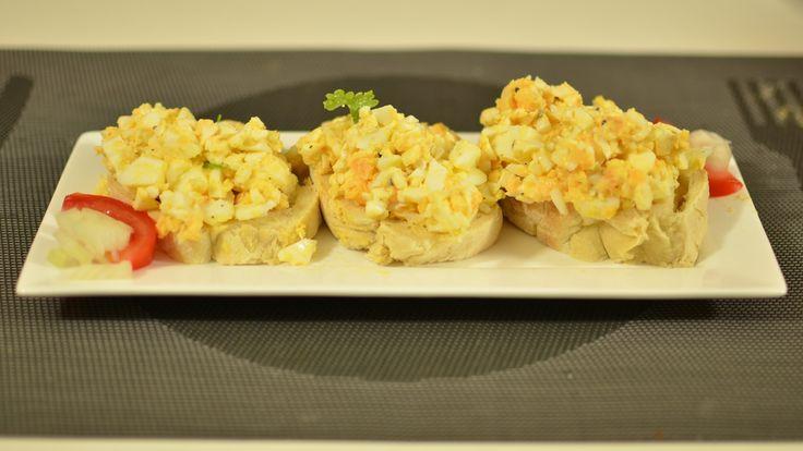 Eiersalat klassisch | Vorspeise | Snack | Kanal-ELF | Koch und Back Rezepte