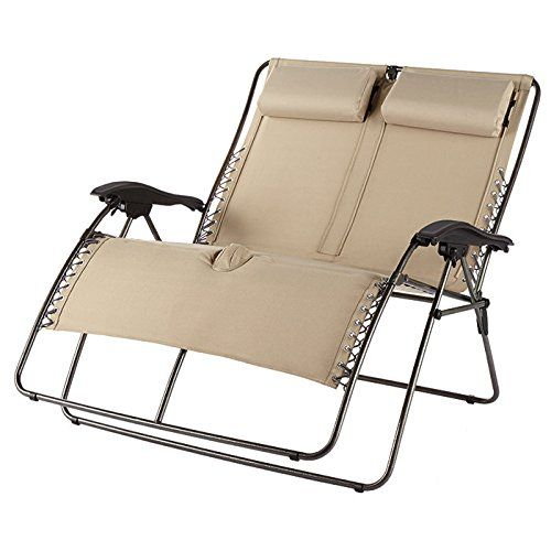 Westfield Outdoor Double-Wide Zero-Gravity Lounger  sc 1 st  Pinterest & 48 best Zero Gravity Chair images on Pinterest | Zero Modern ... islam-shia.org