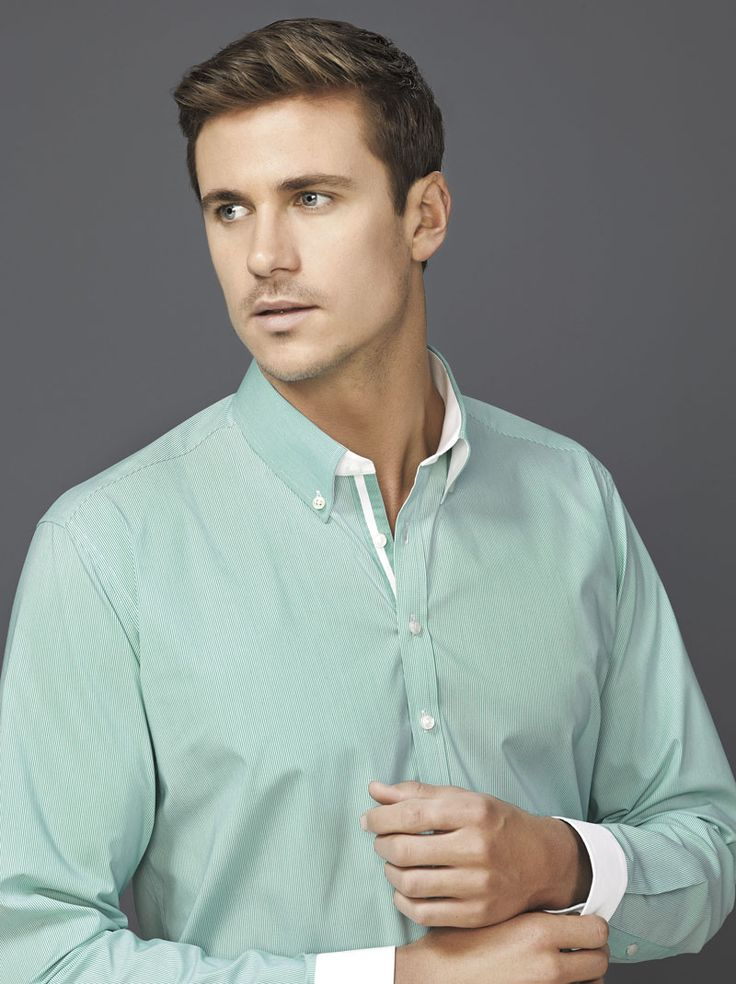 Fifth Avenue Long Sleeve Shirt #bizcorporates #boulevard #fifthavenue #stripedshirt