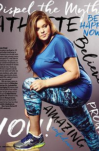 A Running Magazine Put A Plus-Size Model On Its Cover And People Are Into It << and maybe one day someone will make exercise gear in plus size!