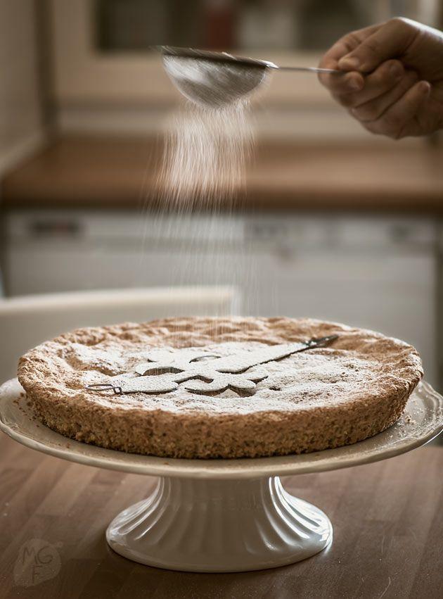 Tarta de Santiago   Recetas con fotos paso a paso El invitado de invierno