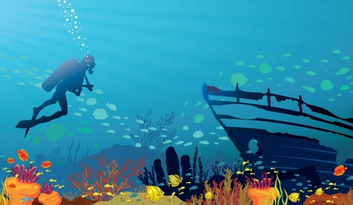 Kinderzimmer Unterwasserwelt Kinder zimmer, Unterwasser