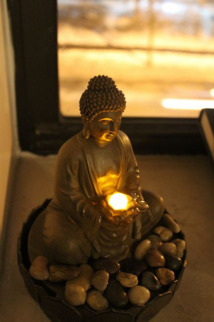 Buddha nightlight Loved and Pinned by www.downdogboutique.com to our Yoga community boards
