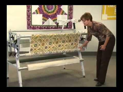 How to pin fabric to a Grace metal frame