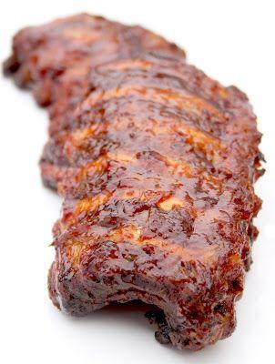 """La Cuisine de Bernard: Les """"Ribs"""" de Porc Grillés Sauce Barbecue"""