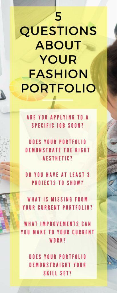 Fashion Portfolio - Step 1: Review Your Current Body of Work http://pickglass.com/fashion-portfolio-review/