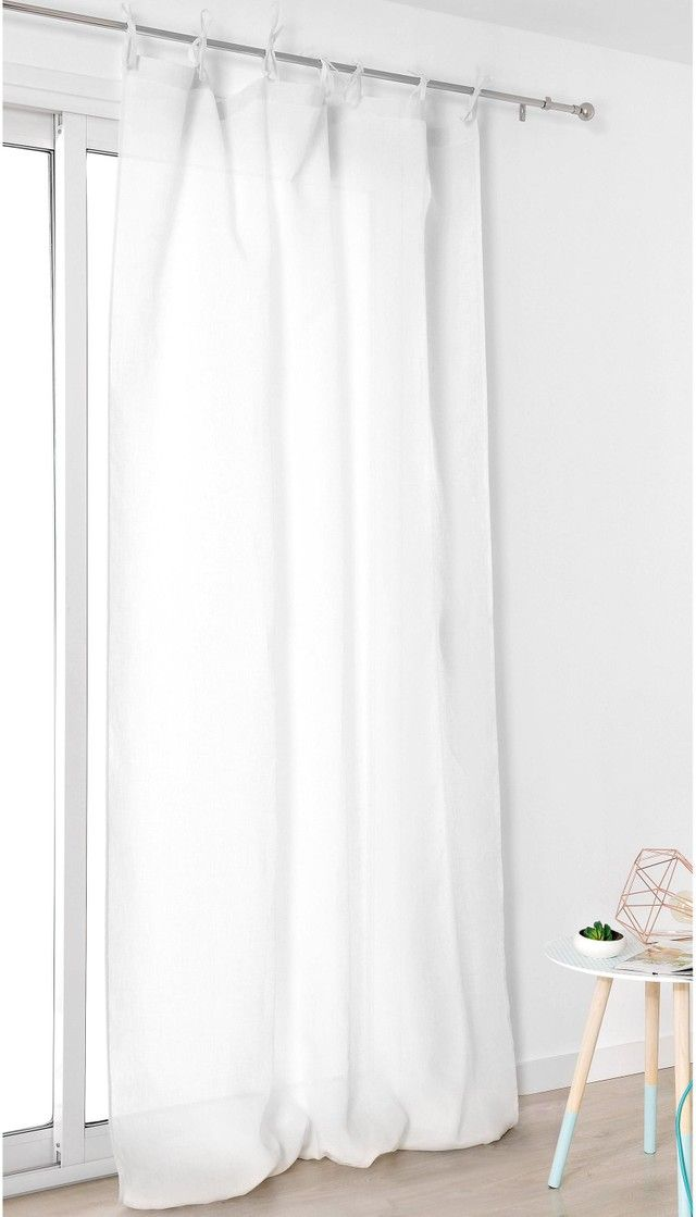 Rideau Rideau Occultant Thermique Tamisant Leroy Merlin Basic Shower Curtain Valbonne Curtains