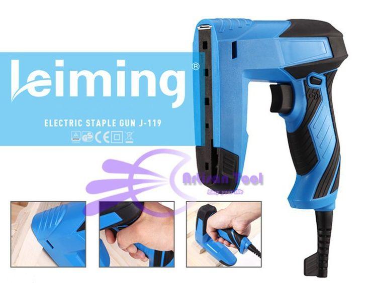 Bois outils de base Tracker électrique agrafeuse cloueuse usage domestique Leiming Staple Nail Gun dans Pistolet à clous de Amélioration de l'habitat sur AliExpress.com | Alibaba Group