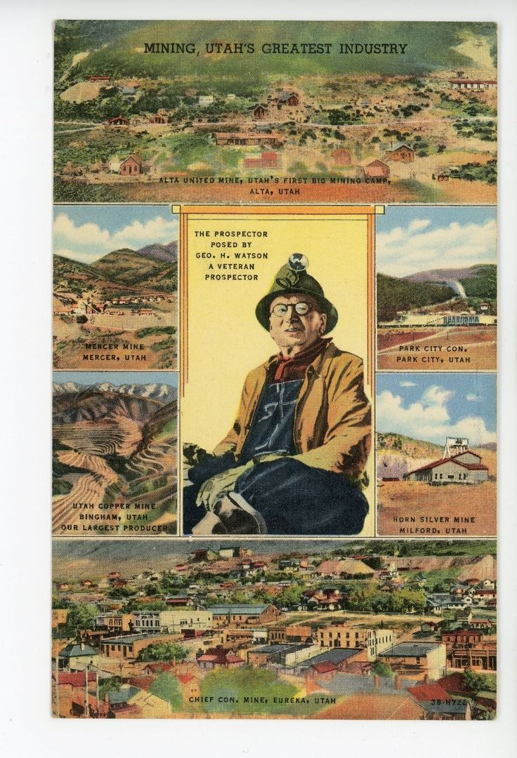 2067 best Vintage Utah postcards and photos images on Pinterest ...