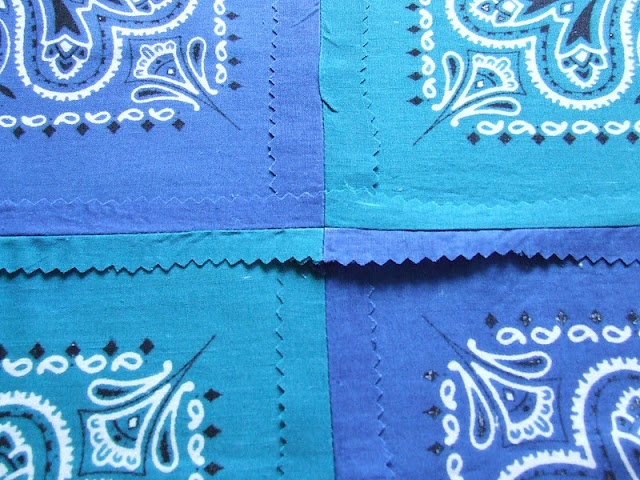 bandana quilt tutorial