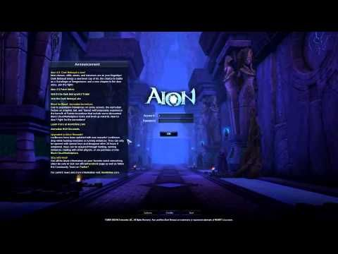 Aion 4.0 login screen music (Full Version)