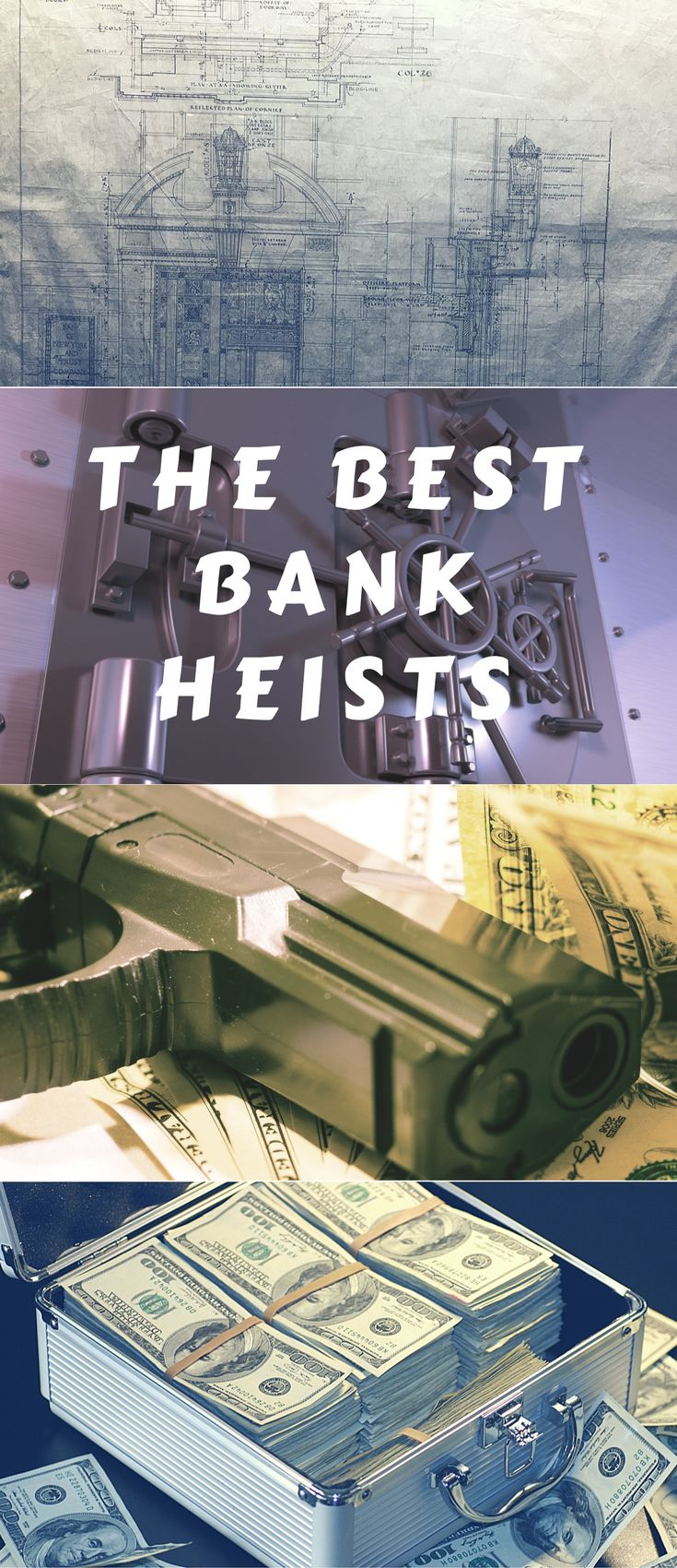 Top bank robberies for history. bank robbery | bank robbery scene | money history | american history