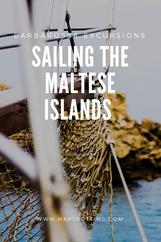 Sailing the Maltese Islands with Barbarossa Excursions. Travel in Europe.